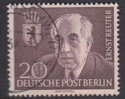Germany Berlin 1954 Ernst Reuter Used - [5] Berlin