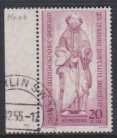 Germany Berlin 1955 25 Years Bishop Of Berlin Used Stamp - [5] Berlin