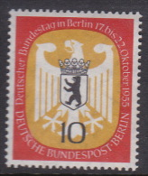 Germany Berlin 1955 Bundestag Meeting In Berlin 10pf  MNH - [5] Berlin