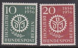 Germany Berlin 1956 Centenary Of German Civil Engineers Mint Hinged - [5] Berlin