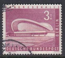 Germany Berlin 1956 Definitive 3 Mk Congress Hall Used - [5] Berlin