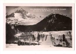 74-----CHAMONIX-MONT-BLANC--vue Générale Du Tremplin De Sauts En Skis Du Mont---voir 2 Scans - Chamonix-Mont-Blanc