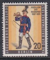 Germany Berlin 1957 Prussian Field Postillion MNH - Unused Stamps