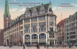 GERMANY - HAMBURG -STADT CAFE BROHAN - Allemagne