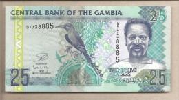Gambia - Banconota Non Circolata Da 25 Dalasis - Gambia