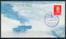 Argentine - Lettre De 1959 Antarctique - Simposio Internacional Del Antartico - Général San Martin - Pingouin - Bateau - Navires & Brise-glace