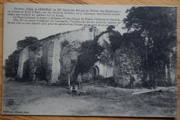 30 : Ancienne Abbaye De Cendras - Nord D'Alais - Bords Du Gardon - Animée : Petite Animation - Plan Inhabituel -(n°3005) - Francia