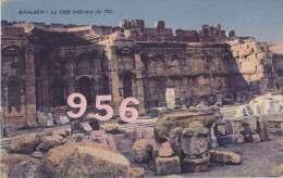 CPA- LIBAN * * BAALBEK * * Le C�t� Int�rieur du Mur