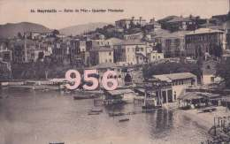 CPA- LIBAN * * BEYROUTH * * Bains de Mer - Quartier Modawar
