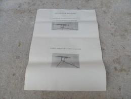 Rare Affiche Mitrailleuse HOTCHKISS Position De Tir - Armes Neutralisées