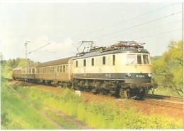TRAIN Allemagne - EISENBAHN Deutschland - OSTERBURKEN - Elektro Schnellzuglokomotive 118 028-0 - Trains