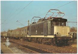 TRAIN Allemagne - EISENBAHN Deutschland - OSTERBURKEN - Elektro Personenzuglokomotive 144 021-3 - Trains