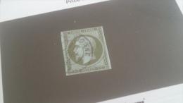 LOT 233124 TIMBRE DE FRANCE OBLITERE N�11 VALEUR 100 EUROS