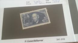 LOT 233179 TIMBRE DE  FRANCE NEUF* N�398 VALEUR 110 EUROS