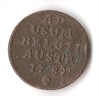 OCCUPATION AUTRICHE 1789 - Belgique