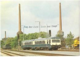 TRAIN Allemagne - EISENBAHN Deutschland - NÜRNBERG - Diesel-Triebwagen 628 103-4/928 103-1 - Autorail - Trains