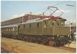 TRAIN Allemagne - EISENBAHN Deutschland - NÜRNBERG - Elektro Schnellzuglokomotive E 04 20 - (gare) - Gares - Avec Trains