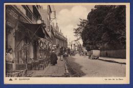 29 QUIMPER La Rue De La Gare ; Voitures - Animée - Quimper