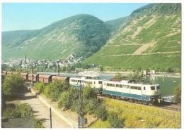 TRAIN Allemagne - EISENBAHN Deutschland - NEEF/MOSEL - Elektro Güterzuglokomotive 151 116-1 - Trains