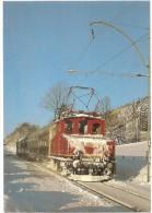 TRAIN Allemagne - EISENBAHN Deutschland - MURNAU - OBERAMMERGAU - Elektro-Lokomotive 169 003-1 - Trains