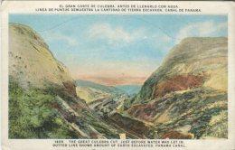I L Maduro Postcard, El Gran Corte De Culebra, The Great Culbera Cut (Panama Canal) 1408 - Panama