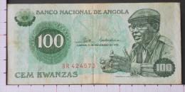 ANGOLA  100  KWANZAS  1976   -  (Nº09579) - Angola