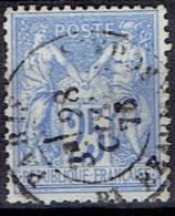FRANCE # STAMPS FROM YEAR 1876  STANLEY GIBBONS 234 - 1876-1898 Sage (Type II)