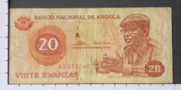 ANGOLA  20  ESCUDOS  1976   -  (Nº09583) - Angola