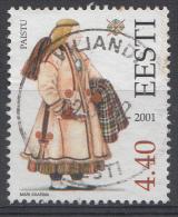 ESTONIE Mi:421 Trachten Der Regionen 2001 Used-Gebruikt-Oblitere - Estland