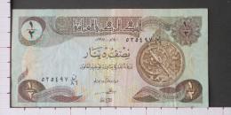 IRAQ  1/2  DINAR  1980   -  (N�09584)