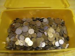 Lot De 7 Kilos De Pièces à Trier - Monnaies