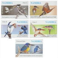 nam14108a Namibia 2014 Kingfishers 5v Fish