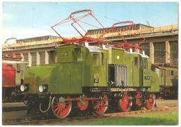 TRAIN Allemagne - EISENBAHN Deutschland - MÜNCHEN - Elektro Güterzuglokomotive E 71 28 - Trains