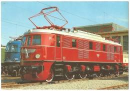 TRAIN Allemagne - EISENBAHN Deutschland - MÜNCHEN - Elektro Schnellzuglokomotive E 19 01 - Trains