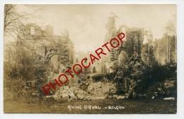 Ruines ORVAL-Carte Photo Allemande-Guerre 14-18-1WK-BELGIQUE-BELGIEN- - Florenville