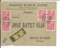 Lettre  Autriche 1915  (756) - 1850-1918 Empire