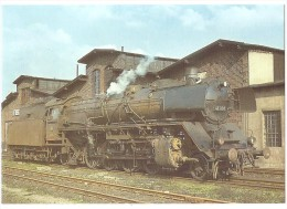 TRAIN Allemagne - EISENBAHN Deutschland - KÖLN - Dampf-Güterzug-Lokomotive 41 001 - Trains