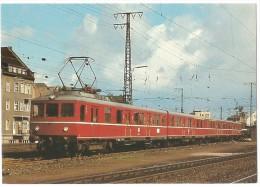 TRAIN Allemagne - EISENBAHN Deutschland - KOBLENZ - Elektro-Triebwagen 426 001 + 426 002 (autorail) - Trains