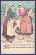 CPA FRANCE - ILLUSTRATEUR AP.J - NODREB (F) 325. GAULOISERIES FRANCAISES - A LA CAMPAGNE - MA PAUVRE JACQUELINE - Other Illustrators