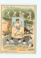 PRIX FIXE - CHROMO - AU BON MARCHE - 1903 - PIERROT - ECOLES JOINVILLE - ESCRIME - MILITAIRE - PROPAGANDE - Au Bon Marché
