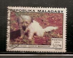 MADAGASCAR OBLITERE