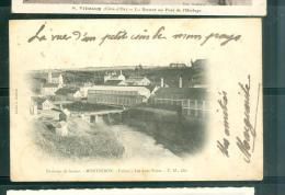 Environs De Sémur - Montzeron - Usines - Les Deux Ponts Eaw71 - Semur