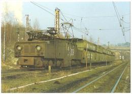 TRAIN Allemagne - EISENBAHN Deutschland - KNAPSACK (KÖLN) - Elektro Güterzuglokomotive 1035 - Trains
