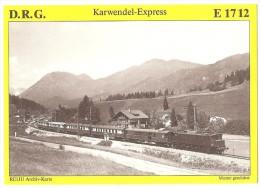 TRAIN Allemagne - EISENBAHN Deutschland - KLAIS - Elektro Schnellzuglokomotive E 17 12 - Trains