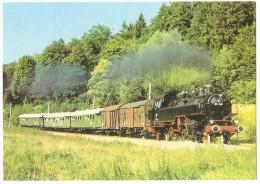 TRAIN Allemagne - EISENBAHN Deutschland - KARLSRUHE ETTLINGEN - Güterzug-Tenderlokomotive 86 346 - Trains