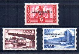Saar - 1955 - Referendum - MNH - 1947-56 Occupation Alliée