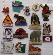 201411- 16 TRES BEAUX PINS ANIMAUX Certains En EGF - Pin's