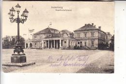 OSTPREUSSEN - INSTERBURG / TSCHERNJACHOWSK, Gesellschaftshaus, 1917, deutsche Feldpost
