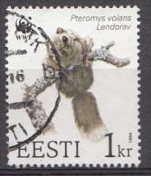 ESTONIE Mi:229 Weltweiter Naturschutz WWF 1994 Used-Gebruikt-Oblitere - Estland