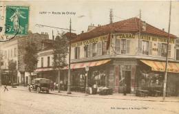 Route De Choisy Maison Delom Tabac Station Des Tramways De Paris  Colorisée - Ivry Sur Seine